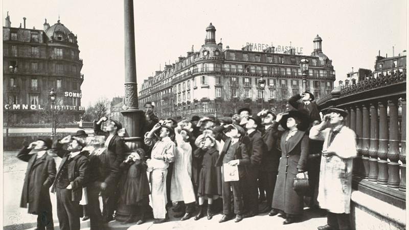 De vieux clichés de Paris qui rappellent la vielle époque