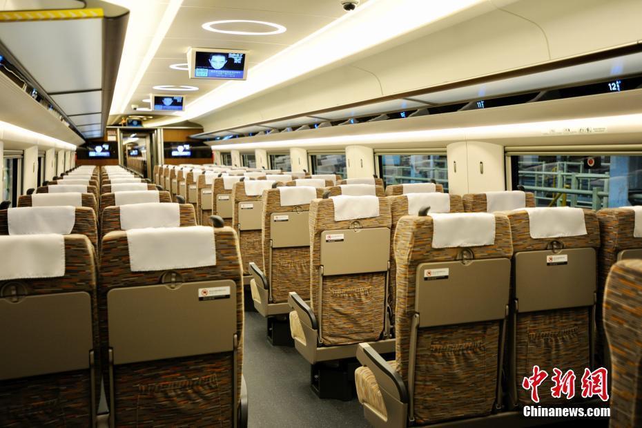 Découvrez l'intérieur du dernier TGV chinois baptisé Fuxing