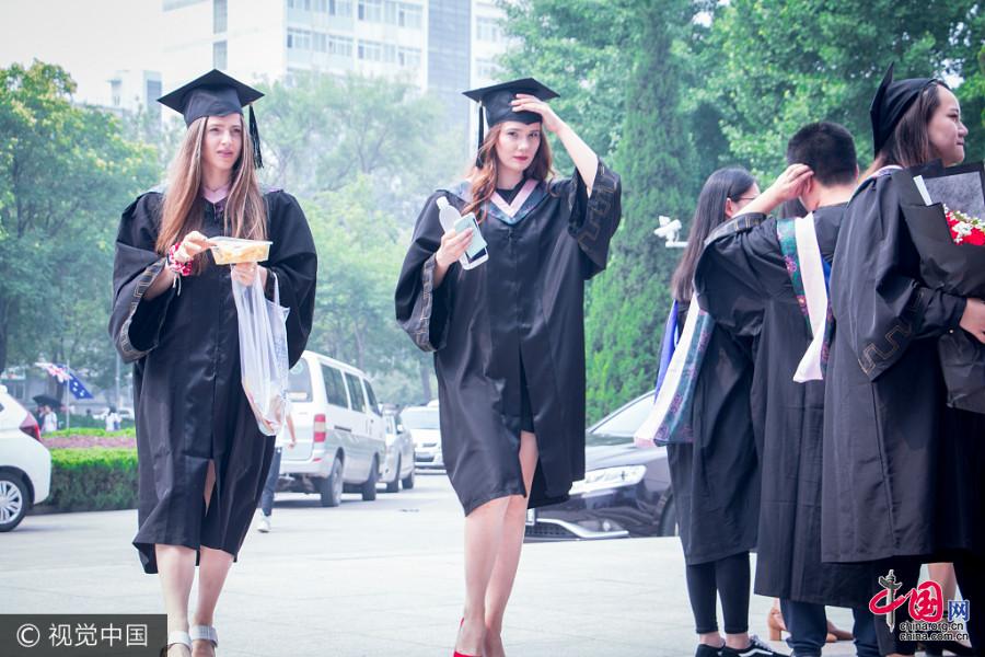 Beijing : photos originales d'une remise de diplôme d'étudiants étrangers
