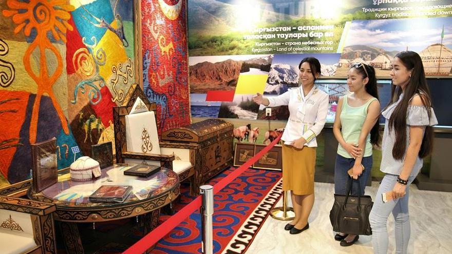 Expo 2017 d'Astana : découvrez le pavillon de la Route de la Soie