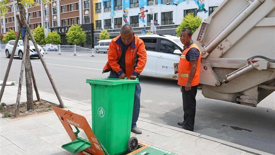 Hebei : des poubelles « souterraines » mises en service à Zhangjiakou