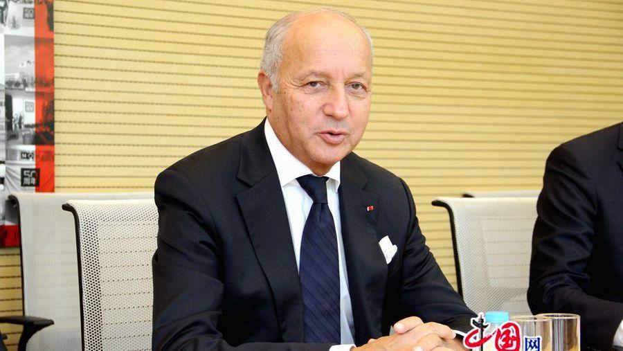 Laurent Fabius en Chine pour promouvoir l'Accord de Paris sur le climat après la décision unilatérale de retrait des Etats-Unis