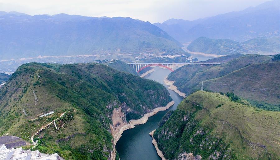 Chongqing : le site de Xiaosanxia, dans le comté de Wushan