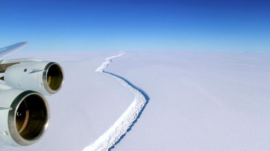ESA : la barrière de glace de l'Antarctique est en train de se désagréger