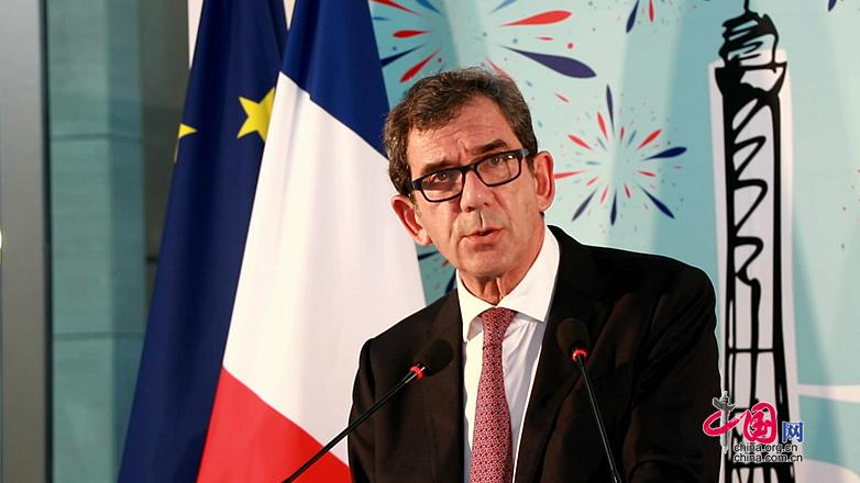Jean-Maurice Ripert: la France attache une importance à l'initiative 'La ceinture et la route'