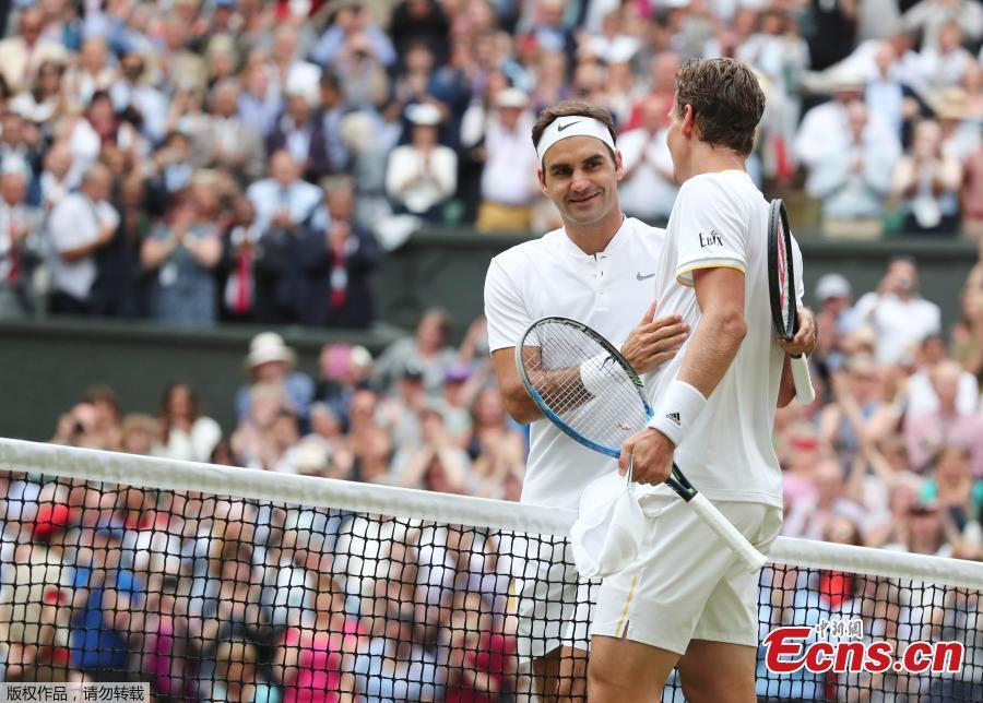 Les faits marquants des demi-finales hommes du tournoi de Wimbledon