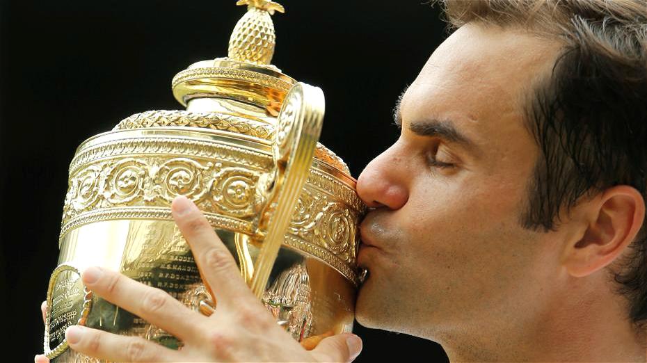 8e titre et nouveau record pour Roger Federer à Wimbledon