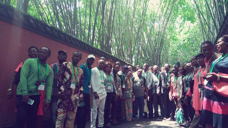 Des professionnels des médias africains à la découverte du Sichuan