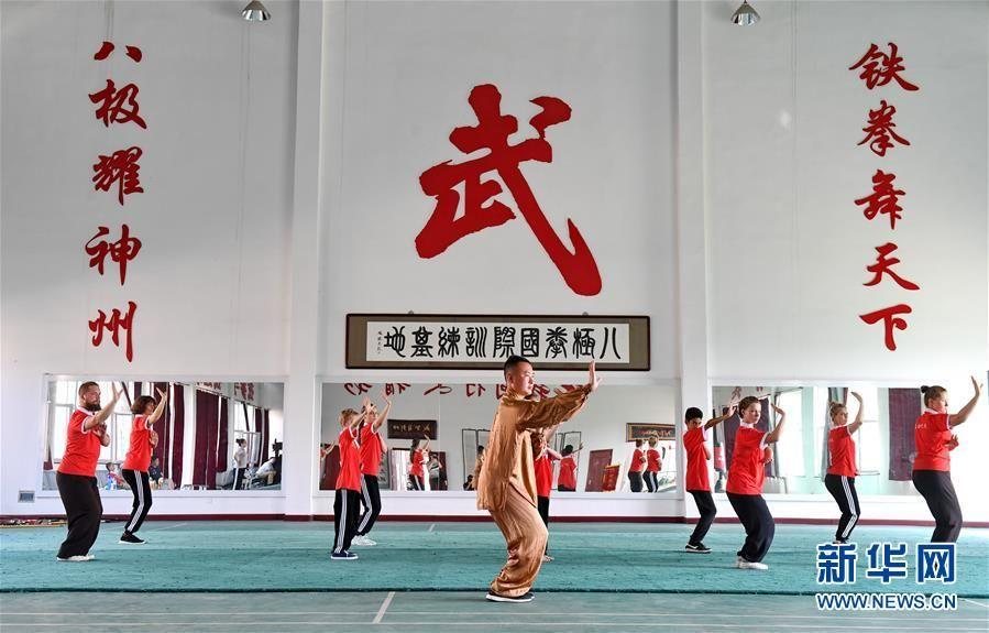Cangzhou, terre d'arts martiaux chinois traditionnels