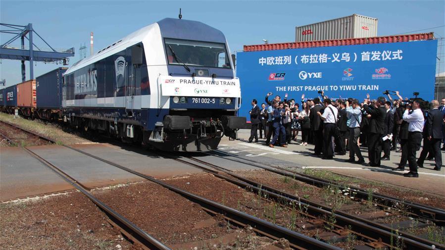 Nouvelles routes de la soie : départ du premier train de Prague à destination de Yiwu