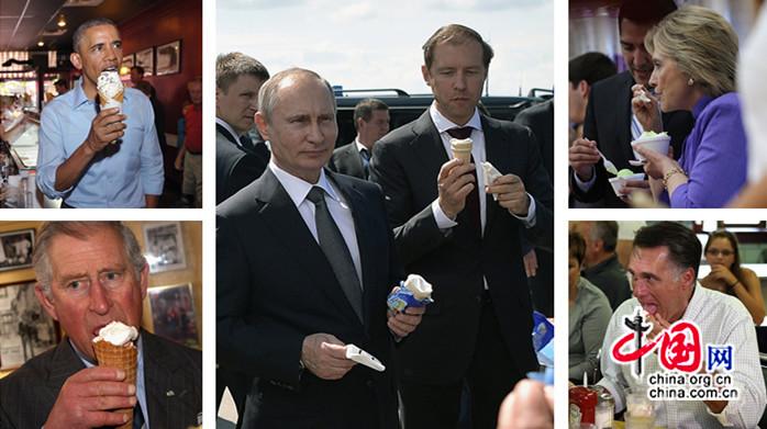 Ces chefs d'Etat qui raffolent des glaces