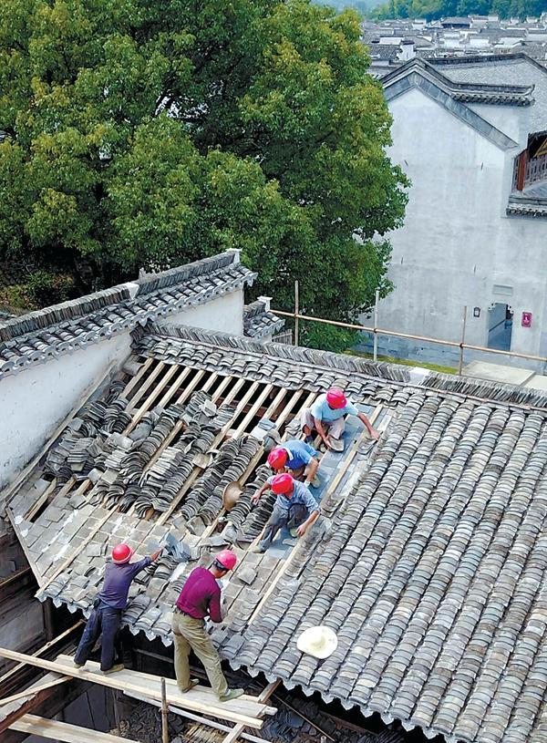 Restauration de l'Académie Nanhu de Huizhou
