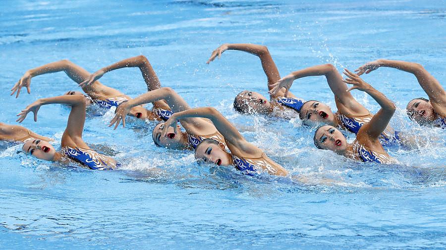 Victoire historique pour les nageuses synchronisées chinoises aux mondiaux de Budapest