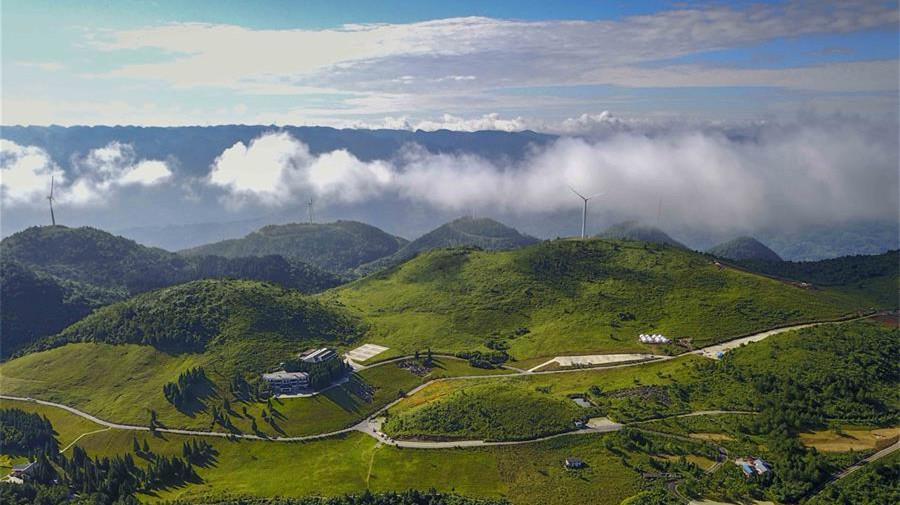 A la découverte du parc géologique national de Yunyang Longgang, à Chongqing