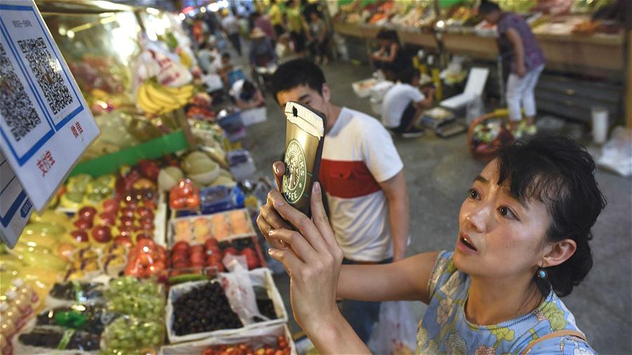 La disparition des paiements en liquide se confirme en Chine
