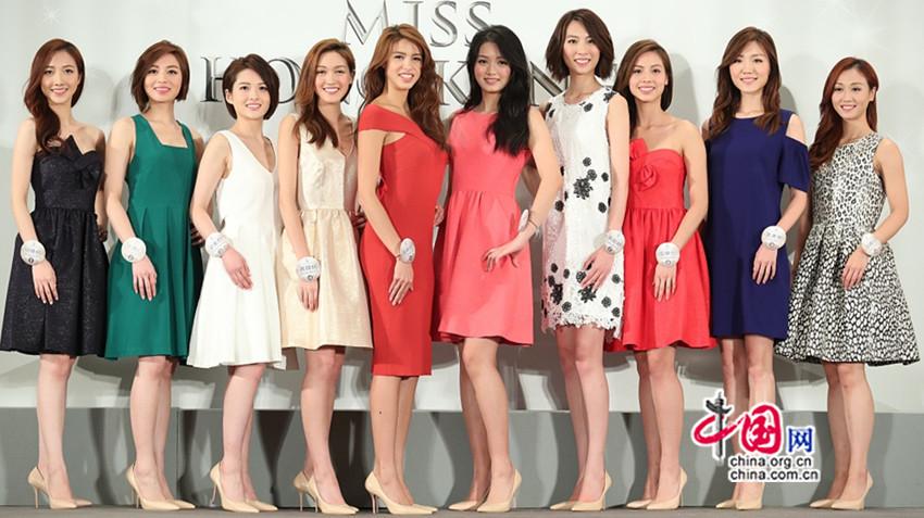 Le concours Miss Hong Kong 2017 présente ses dix finalistes