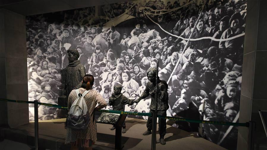 Exposition pour le 72ème anniversaire de la capitulation du Japon