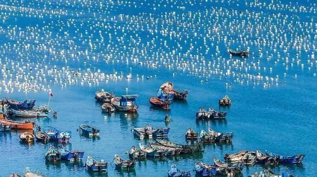 Un magnifique village de pêcheurs au Fujian