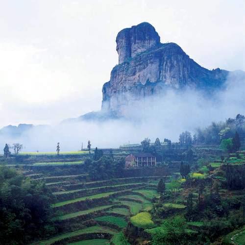 Zhejiang,Yandangshan, UNESCO 6