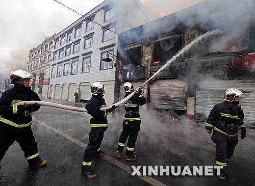 Unruhen in Lhasa