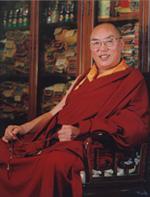 Lamaistischen Akademie, Nagtsang Champa Ngawang, Tibet, China