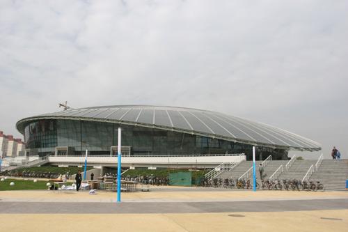 Das Gymnastikzentrum der Universit?t für Industrie Beijing