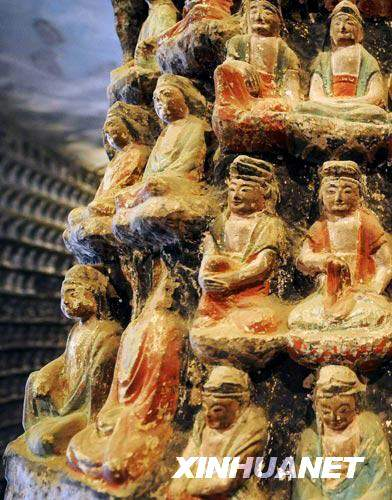 Zhongshan,Grotten,?stlichen Jin,Buddha, Yungang-Grotten ,Yungang-Grotten 2