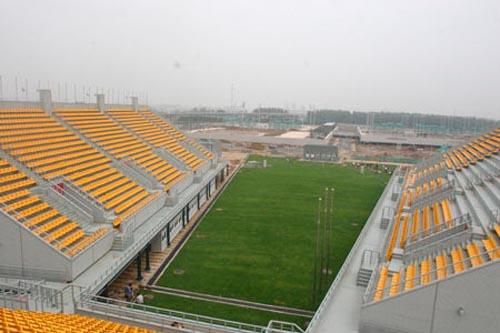 Das Bogenschie?-Stadion im Olympiapark(t)
