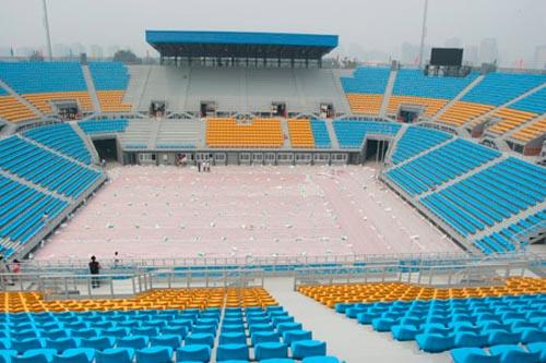 Das Chaoyang-Park Beachvolleyballstadion(t)