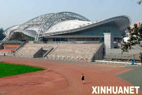 Das Gymnastikzentrum der Technischen Universit?t Beijing(t)