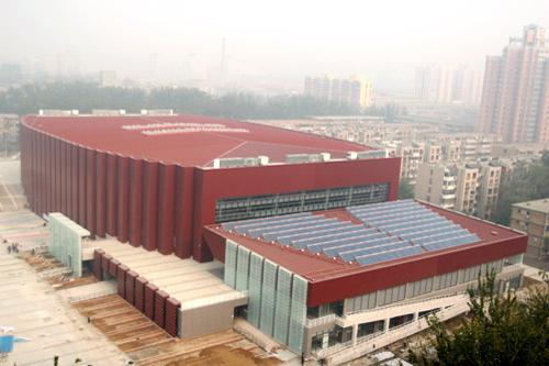 Das Gymnastikzentrum der Beijinger Universit?t für Wissenschaft und Technik