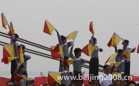 Fackellauf in Tianjin getragen