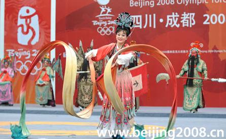 Olympischer Fackellauf in Chengdu erfolgreich beendet