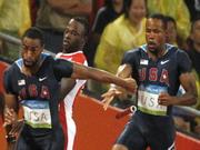 4 x 100 ,Sprintstaffeln,USA,Stabwechsel,M?nner,Frauen,Video,peking,2008,olympia,Jamaika