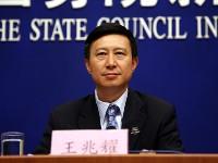 Wang Zhaoyao, der stellvertretende Büroleiter und Pressesprecher der bemannten Raumfahrtprojekte