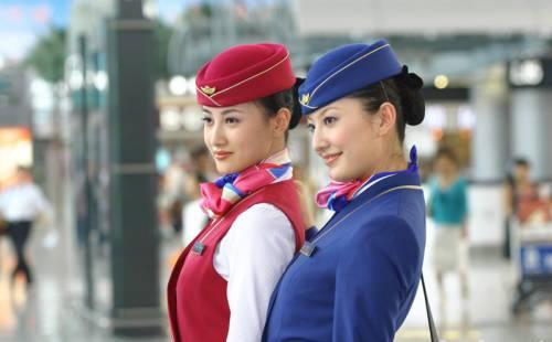 Sie Massiert Die Stewardessen