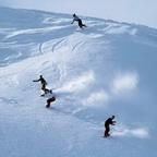 Das Skigebiet Huaibei ist von Bergen umgeben, über deren Spitze ein aus der Ming-Dynastie stammender Abschnitt der Großen Mauer verläuft. In Huaibei werden zahlreiche Wintersportaktivitäten angeboten.