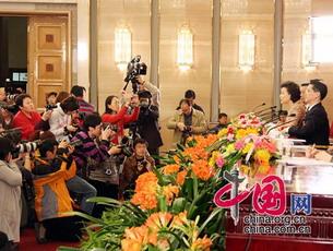 Pressekonferenz über den Expo 2010 in Shanghai