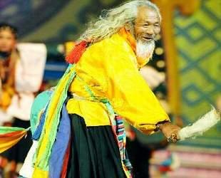Tibet,Geschichte,Cho-Tanz, Nyima Wangchug , Neujahr 2