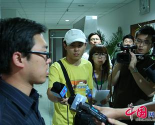 Lehrer aus Shanghai dankt seinen uigurischen Landsleuten für ihre Hilfe