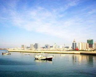 Das Olympische Segelzentrum in Qingdao