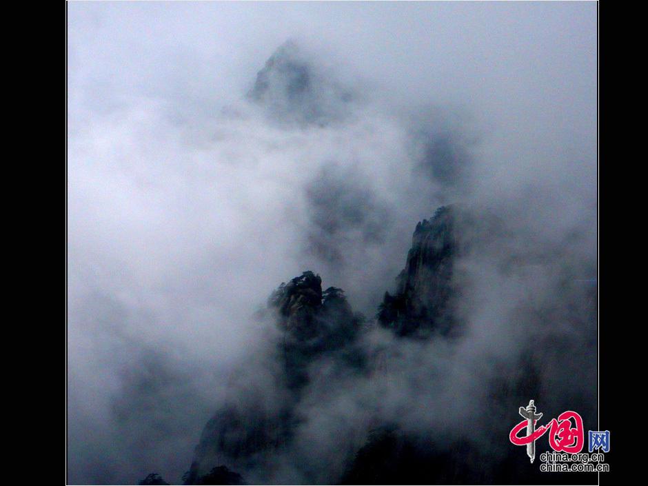 Schnappschuss vom Huangshan-Gebirge - China.org.cn