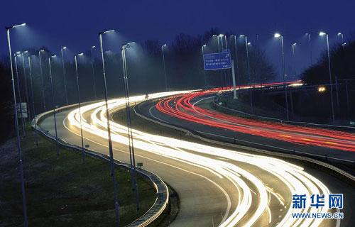 Reise erste autobahn mit led for Lampen niederlande