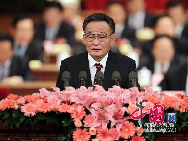 Die legislativen Arbeiten für ein sozialistisches Rechtssystem chinesischer Prägung sind wie vorgesehen 2010 abgeschlossen worden. Dies teilte der Vorsitzende des Ständigen Ausschusses des Nationalen Volkskongresses, Wu Bangguo, am Donnerstag in Beijing mit.