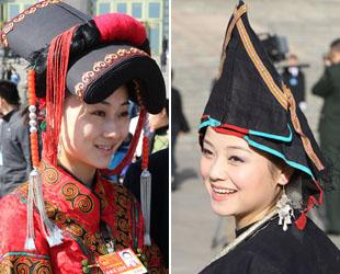 NVK-Abgeordnete und PKKCV-Mitglieder ethnischer Minderheiten sind 'Superstars' auf den Tagungen geworden und haben eine große Aufmerksamkeit der Medien auf sich gezogen.