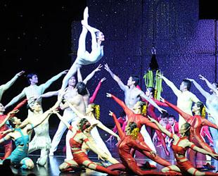 Die Veranstaltungsserie 'Experience China' ist am Dienstag in der Wiener Stadthalle eröffnet worden. Die Guangdong Acrobatik Troup zeigte dabei chinesische Tanz- und Akrobatikkunst auf höchstem Niveau.