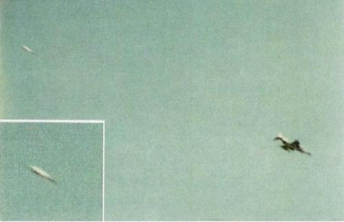 Wurde ein deutsches f 4 phantom jagdflugzeug von einem ufo verfolgt