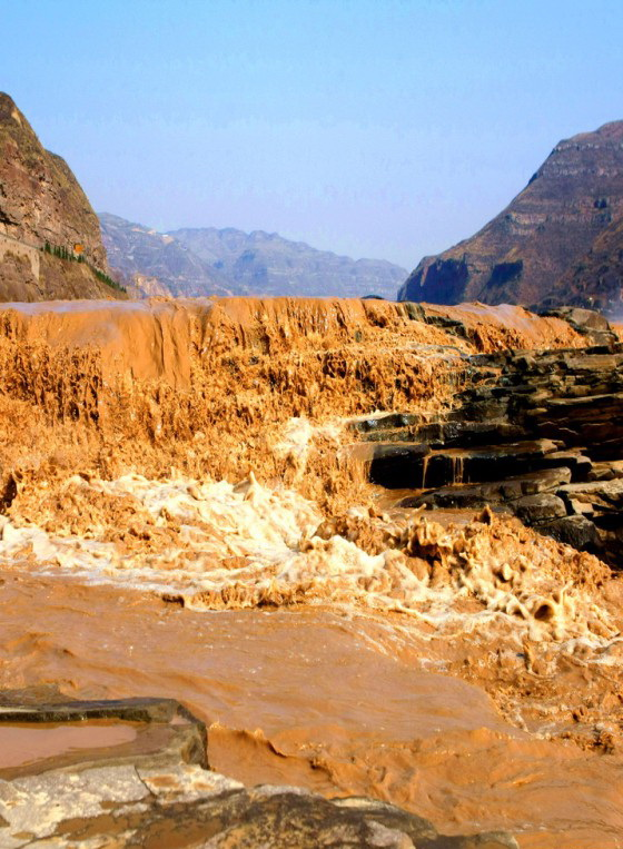 Reise - german.china.org.cn - Hukou-Wasserfall: Gelber ...