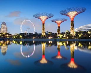 Singapur soll keine Stadt mit Gärten sein, sondern ein einziger, großer Garten, in dem eine Stadt liegt – mit höchster Lebensqualität für alle Einwohner. Am Freitag wurde 'Bay South', die größte von drei Grünanlagen, feierlich eröffnet.