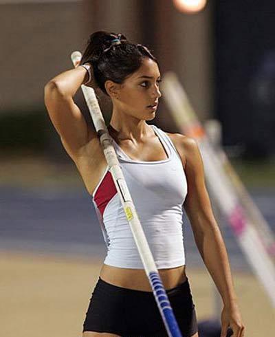 Schöne sportlerinnen
